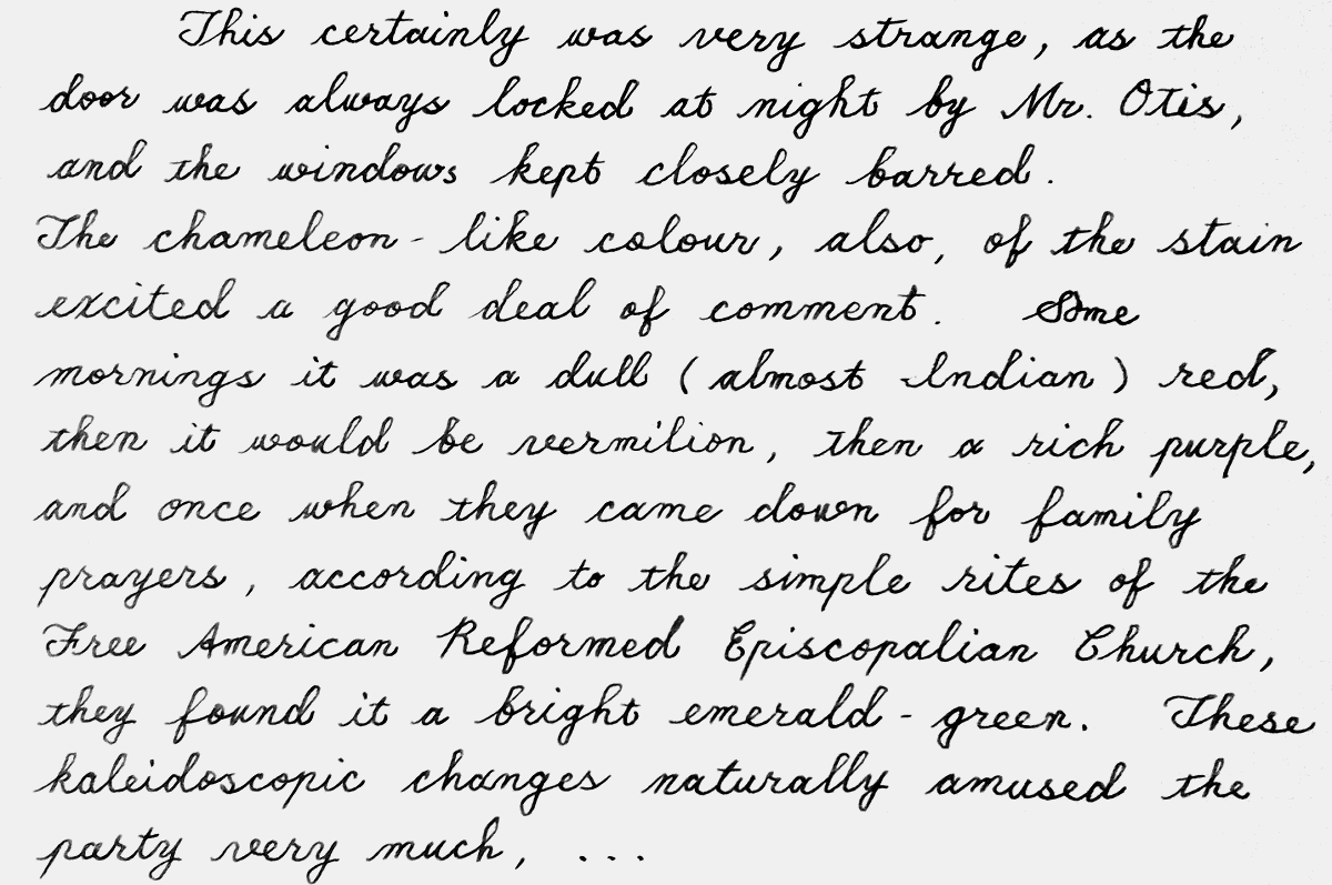 canterville15handwriting