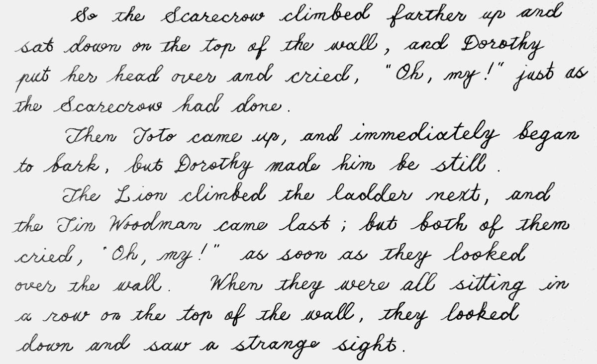 oz194handwriting