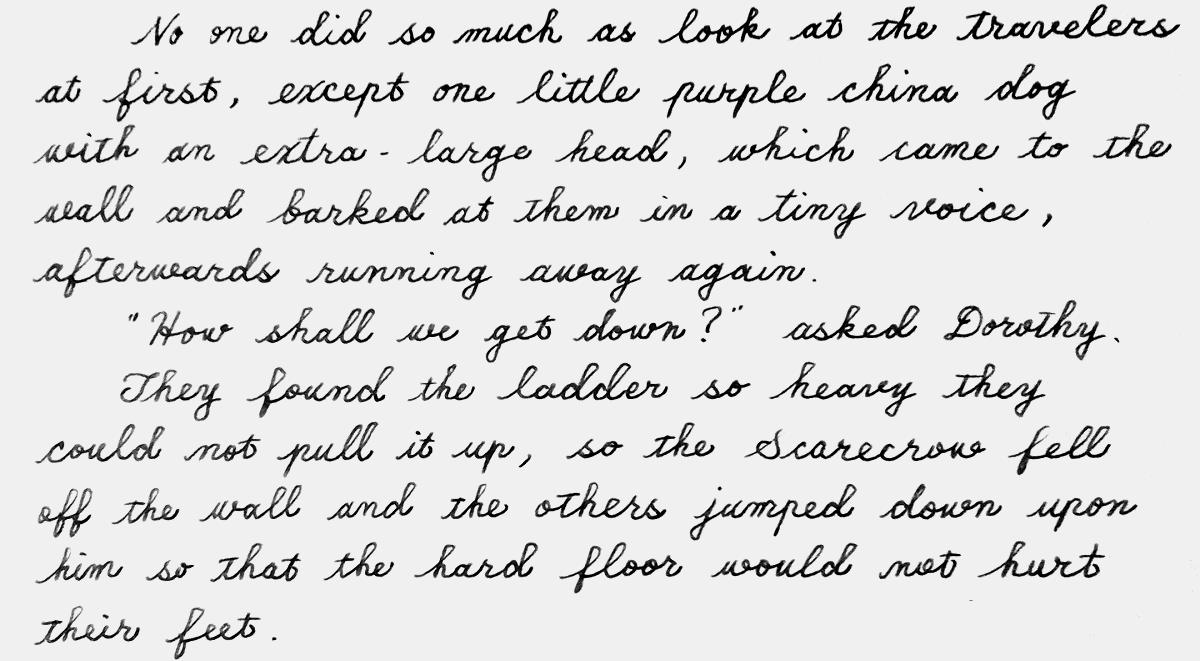 oz196handwriting