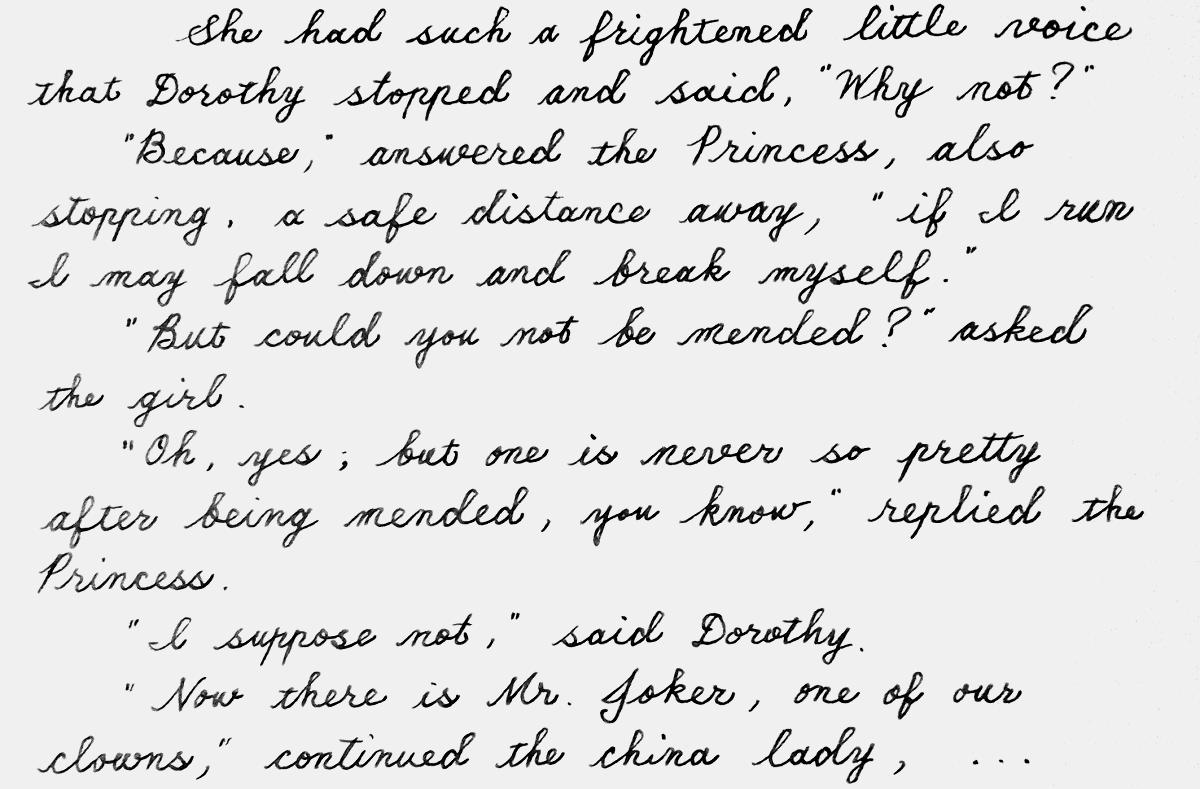 oz199handwriting